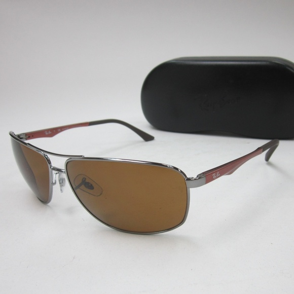 8290c076201 ... low cost rayban rb 3506 132 83 polarized sunglasses oli651 d4605 f5ccd